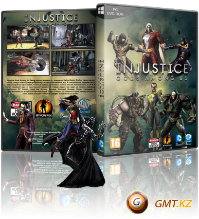 Injustice: Gods Among Us Ultimate Edition (2013/RUS/ENG/RePack от Fenixx)
