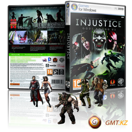 Injustice: Gods Among Us Ultimate Edition (2013/RUS/ENG/MULTi11/RePack by xatab)