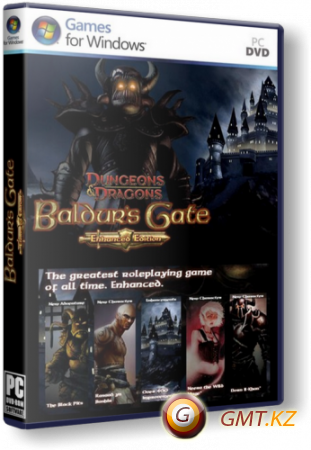 Baldur's Gate II: Enhanced Edition v.1.2.2030 (2013/RUS/ENG/RePack от xatab)