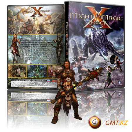 Might & Magic X Legacy Deluxe Edition v.1.5 + 1 DLC (2014/RUS/ENG/MULTI14/RePack �� Fenixx)