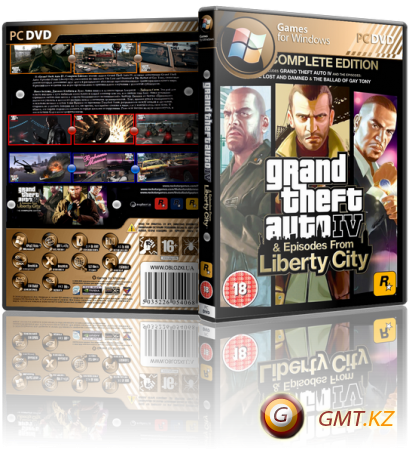 Grand Theft Auto IV The Complete Edition v.1.0.7.0/1.1.2.0 (2014/RUS/ENG/RePack от MAXAGENT)