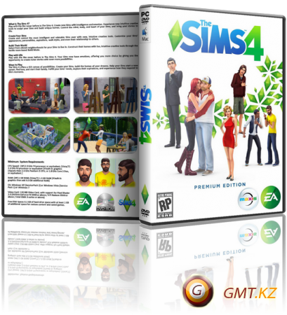 The Sims 4: Deluxe Edition v.1.68.154.1020 + DLC (2014/RUS/ENG/Лицензия)
