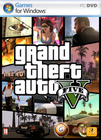 GTA 5 на ПК / PC Grand Theft Auto 5 Crack + Patch (2015/RUS/ENG/Crack + Update 5)