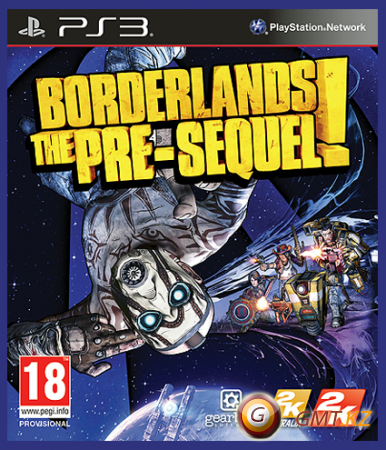 Borderlands: The Pre-Sequel! Deluxe Edition (2014/ENG/FULL/3.41/3.55/4.21+)