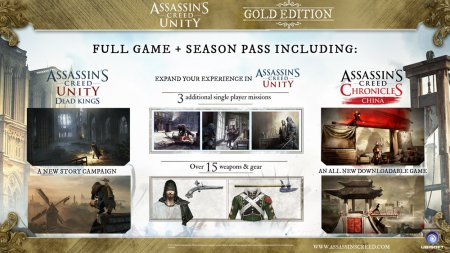 Assassin's Creed: Unity Gold Edition (2014/RUS/FRA/Лицензия)