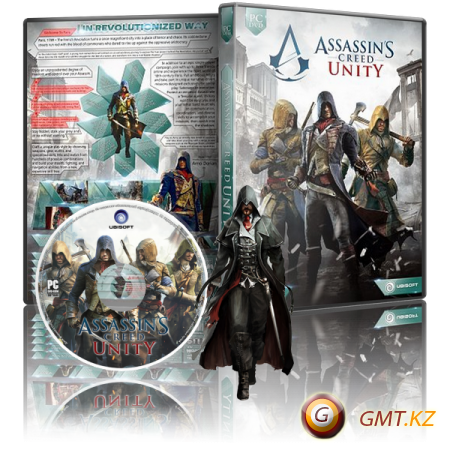 Assassin's Creed: Unity Gold Edition v.1.5.0 (2014/RUS/ENG/RePack by R.G. Механики)