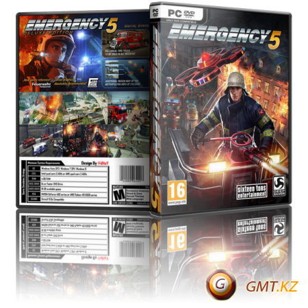 Emergency 5 Deluxe Edition [Update 12] (2014/RUS/ENG/MULTI/RePack от xatab)