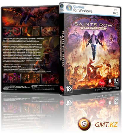 Saints Row: Gat out of Hell (2015/RUS/ENG/Лицензия)
