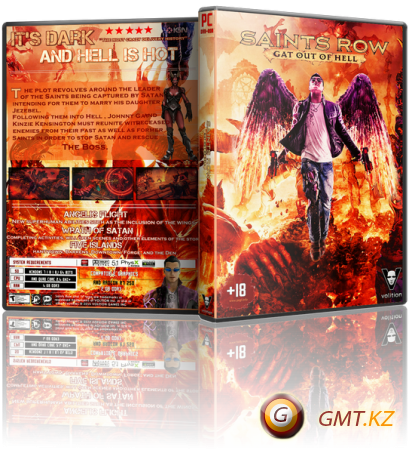 Saints Row: Gat out of Hell (2015/RUS/ENG/RePack от MAXAGENT)