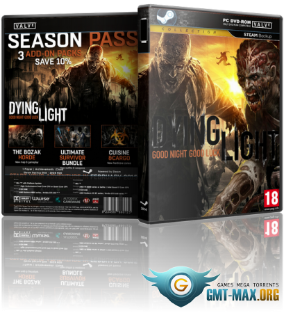 Dying Light Ultimate Edition v.1.5.0 + DLCs (2015/RUS/ENG/Лицензия)