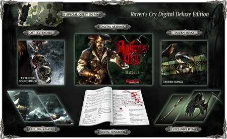 Raven's Cry Digital Deluxe Edition (2015/RUS/ENG/GER/Лицензия)