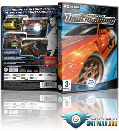 Need for Speed: Underground (2003/RUS/ENG/Пиратка)