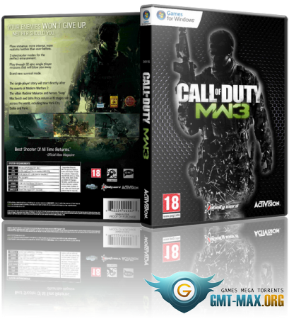 Call of Duty: Modern Warfare 3 (2011/RUS/ENG/Multiplayer/Rip)