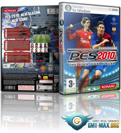PES 2010 / Pro Evolution Soccer 2010 (2009/RUS/ENG/RePack)