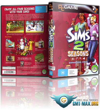 The Sims 2: ��������� (2004-2008/RUS/ENG/RePack �� R.G. ��������)