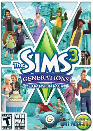 The Sims 3: Generations (2011/RUS/ENG/Лицензия)