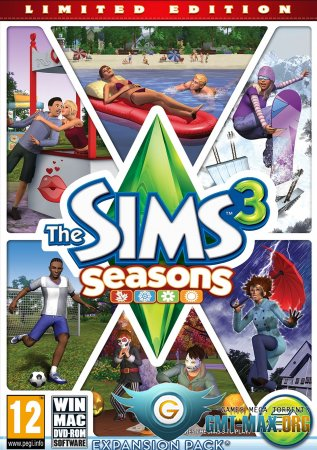 The Sims 3: ������� ���� / The Sims 3: Seasons (2012/RUS/MULTI17/��������)