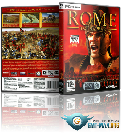 Rome: Total War Gold Edition (2006/RUS/RePack от Fenixx)