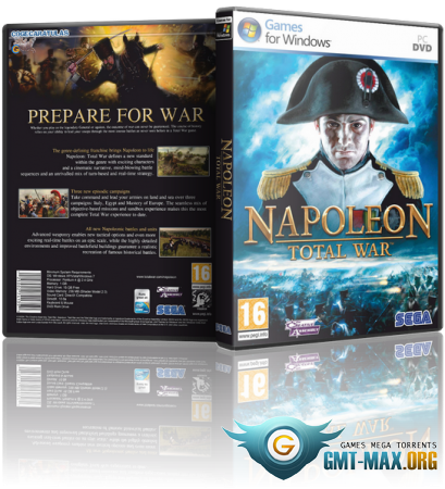 Napoleon: Total War Imperial Edition + DLC (2010/RUS/RePack от R.G. Catalyst)