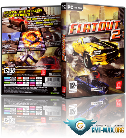FlatOut 2 Most Wanted (2009/RUS/RePack)