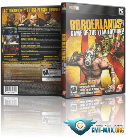 Borderlands Game of the Year Edition (2010/RUS/ENG/RePack от R.G. Games)