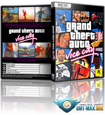 GTA / Grand Theft Auto: Vice City (2003/RUS/ENG/Лицензия)