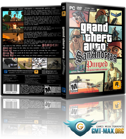 GTA / Grand Theft Auto: San Andreas - Spring Season 2013 (2005/RUS/ENG/Пиратка)