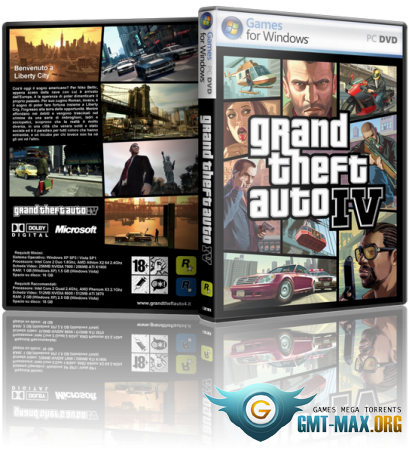 GTA 4 / Grand Theft Auto IV - Overclockers Edition (2010/RUS/ENG/RePack)