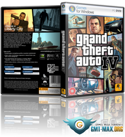 GTA 4 / Grand Theft Auto IV in style GTA 5 v.5.0 (2015/RUS/ENG/RePack)