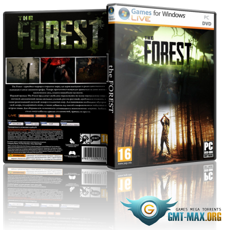 The Forest v.0.62 (2017/RUS/ENG/Steam-Rip)