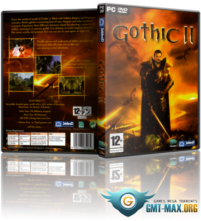 Gothic 2 Gold Edition / Готика 2 Золотое издание (2003/RUS/RePack)