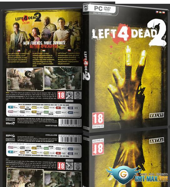 Скачать торрент Left 4 Dead 2 (2009/RUS/ENG/RePack) бесплатно
