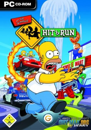 The Simpsons Hit and Run (2003/RUS/ENG/Пиратка)