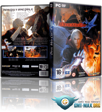 Devil May Cry 4 Collector's Edition (2008/RUS/ENG/RePack �� R.G. ��������)