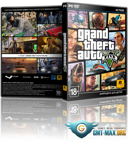 GTA 5 / Grand Theft Auto V (2015/RUS/ENG/Multiplayer/RePack)