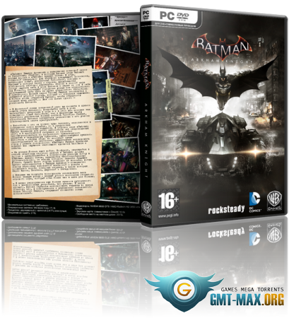 Batman: Arkham Knight Game of the Year Edition (2015/RUS/ENG/GOG)