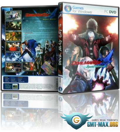 Devil May Cry 4: Special Edition (2015/ENG/RePack от MAXAGENT)