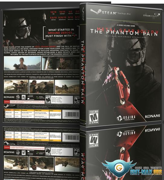 Metal Gear Solid V The Phantom Pain DirectX 10 - Toqad