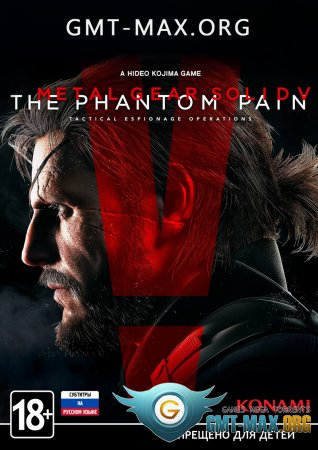 Crack Metal Gear Solid 5: The Phantom Pain (2015/RUS/ENG/Crack by 3DM + Patch)