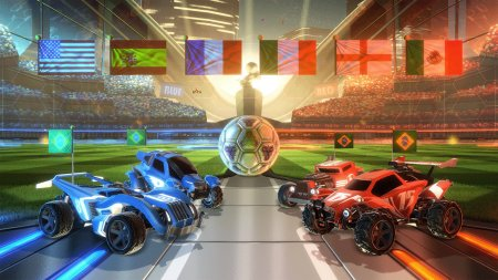 Rocket League v.1.24 + 12 DLC (2015/ENG/RePack от R.G. Механики)