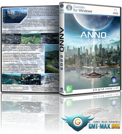 Anno 2205: Gold Edition (2015/RUS/ENG/RePack от R.G. Механики)