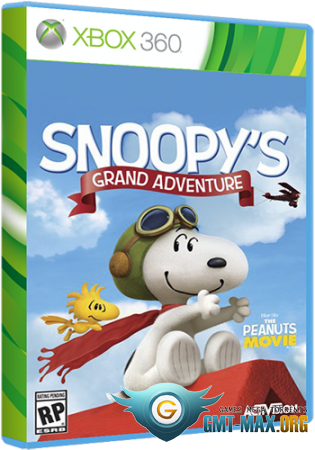 The Peanuts Movie: Snoopys Grand Adventure (2015/ENG/LT + 1.9/Region Free)