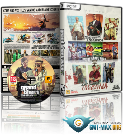 GTA 5 / Grand Theft Auto V v.1180.1 (2017/RUS/ENG/RePack от MAXAGENT)