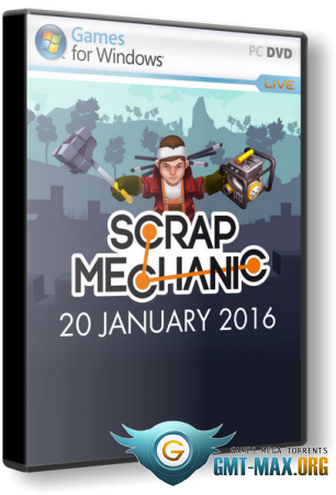 Scrap Mechanic v.0.1.33 (2016/ENG/Лицензия)