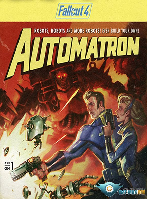 Fallout 4 automatron скачать торрент механики