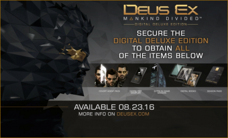 Deus Ex: Mankind Divided Deluxe Edition (2016/RUS/ENG/Steam-Rip)