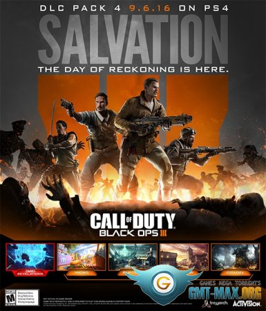 Call of Duty Black Ops III Salvation DLC (2016/RUS/ENG/DLC + Crack by RELOADED)