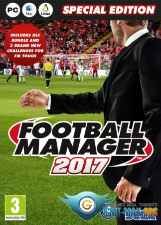 Football Manager 2017 Crack (2016/RUS/ENG/Crack by CPY)
