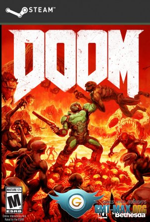 Doom 4 / DOOM / Дум 2016 Crack + Update 1-5 (2016/RUS/ENG/Crack by PLAZA)
