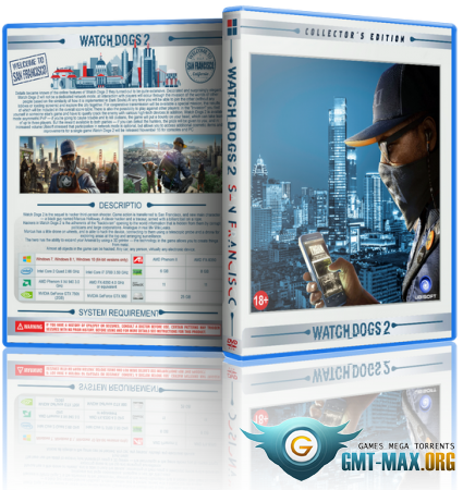 Watch Dogs 2 Digital Deluxe Edition (2016/RUS/ENG/Uplay-Rip)